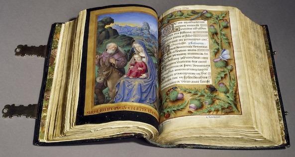 L'exposition du château royal de Blois présentera 140 livres ayant appartenu à François 1er - DR : BNF