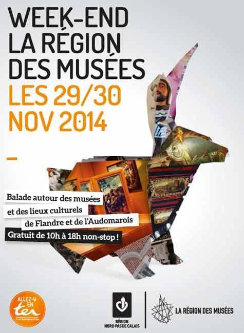 Week-end La Région des Musées : le Nord-Pas de Calais ouvre les portes de ses musées