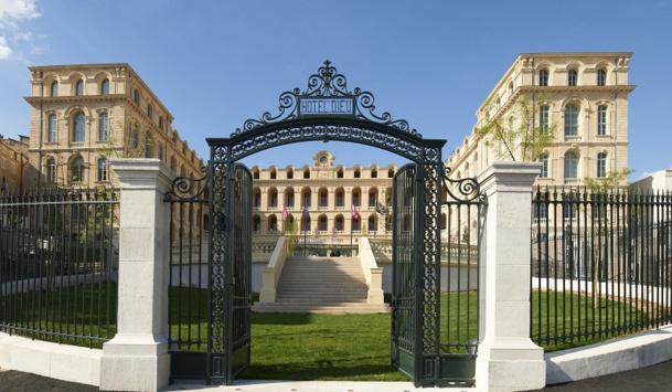 L'InterContinental Marseille - Hôtel Dieu a ouvert ses portes fin avril 2014 - Photo DR