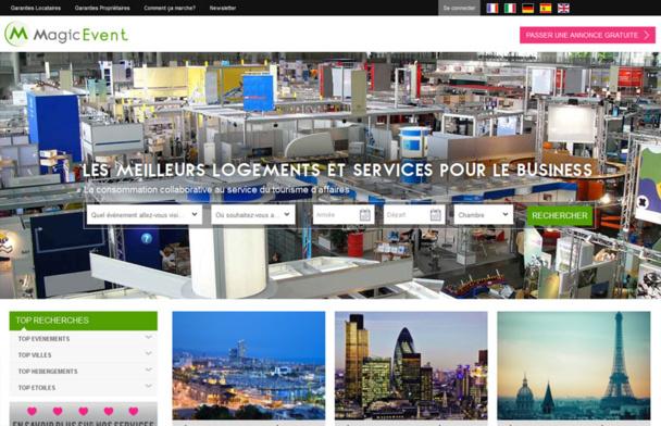 Le site MagicEvent propose des logements alternatifs à l'hôtel aux voyageurs affaires - DR