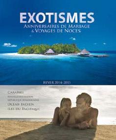Exotismes : 35 nouvelles lunes de miel dans la brochure Voyages de Noce