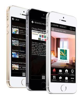 La nouvelle application d'e-conciergerie de Choice Hotels