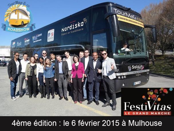 Pour sa 4e édition, le TourMaG&CO Roadshow sera à Mulhouse le 6 février 2014 pour le salon Festivitas - DR : TourMaG.com