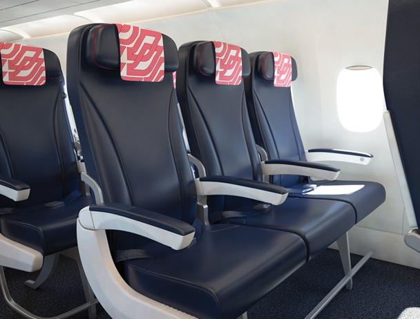 Un nouveau siège accompagné de nouveaux services pour reconquérir la clientèle affaires - DR : Style&Design pour Air France