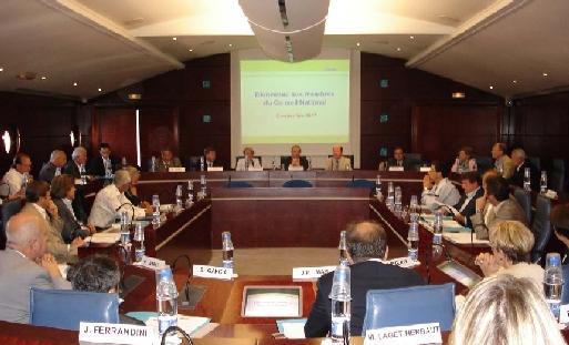 Le Conseil National s'est tenu exceptionnellement en province, à Blagnac dans la banlieue de Toulouse