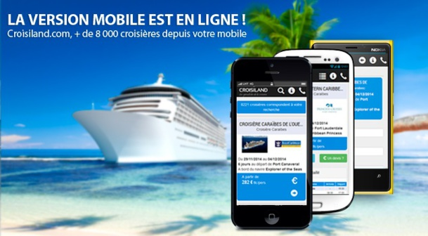 Croisiland.com lance sa version mobile