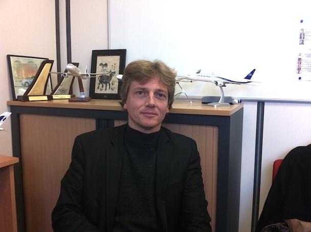 Christophe Pouille, le nouveau responsable adjoint de TGV AIR - DR : LAC