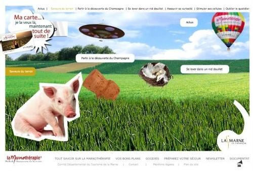 Marnothérapie.fr : le CDT de la Marne renouvelle son site Internet