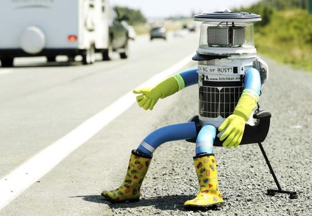 HitchBot, le robot auto-stoppeur qui a traversé le Canada