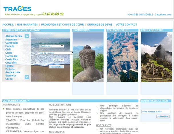 Toutes les marques du groupe Consult Voyages, dont Traces, perdent leur garantie financière APST - Capture d'écran