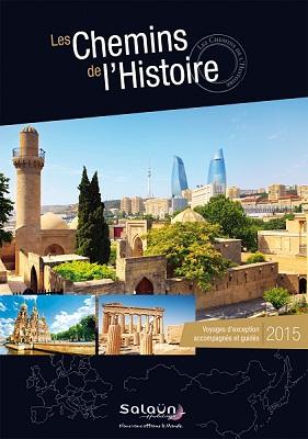 """Salaün Holidays publie la brochure """"Les Chemins de l'Histoire"""" -DR"""