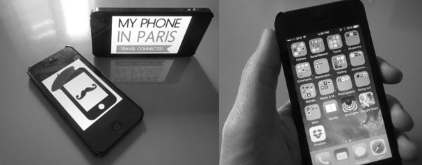"""My Phone in Paris: """"all-inclusive"""" Smartphone rental for tourists"""