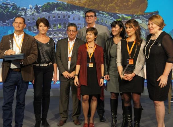 Les lauréats des Trophées Selectour Afat - Photo CE