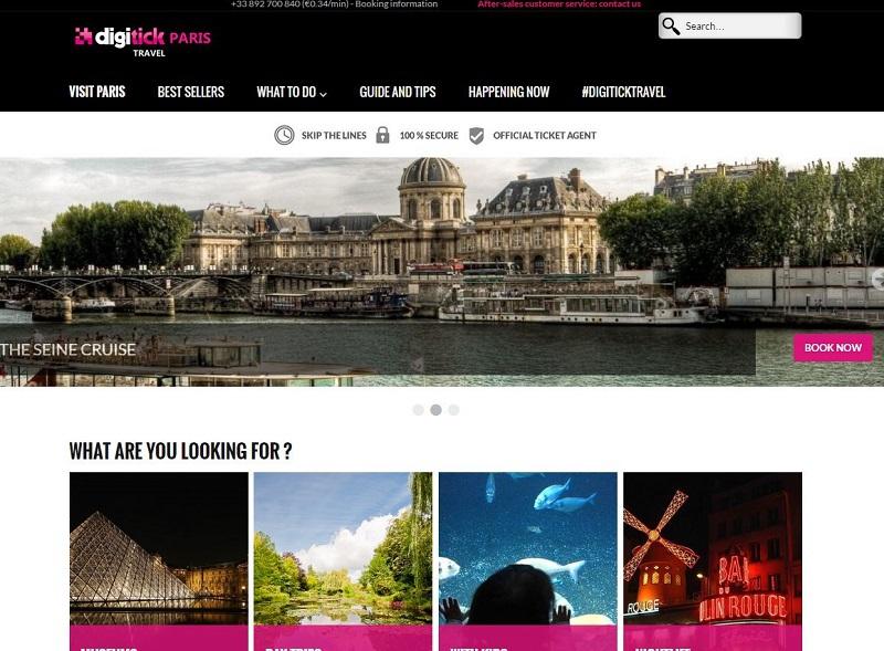 Digitick Travel permettra de réserver des lieux touristiques et activités de loisirs.