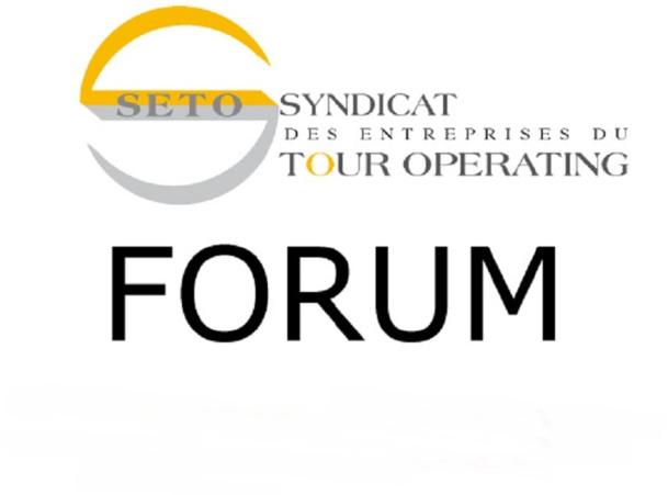 6e Forum du Seto du 8 au 10 décembre 2014 à Deauville - DR