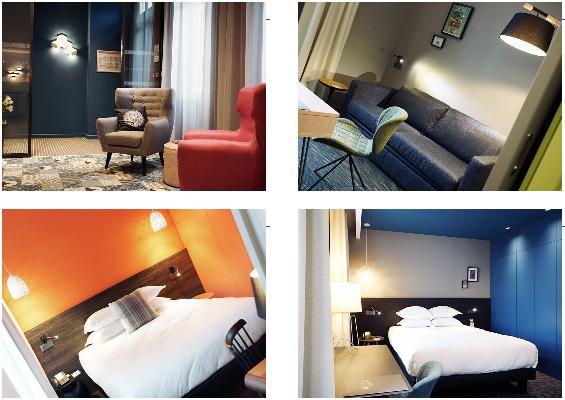 L'Alex Hôtel de Marseille, 3 étoiles, compte 21 chambres et suites - Photos DR
