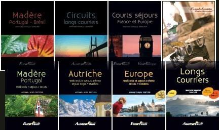 Dans la forme, APVF passe de 13 à 8  brochures, sans supprimer pour autant la déclinaison des destinations.