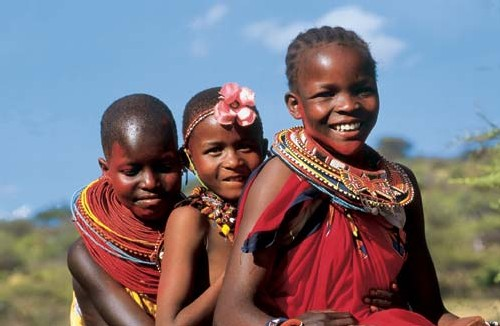 Petites filles Masai