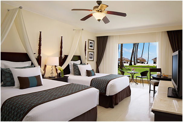 La catégorie Preferred Club Deluxe Vue Ocean du Dreams Palm Beach Punta Cana