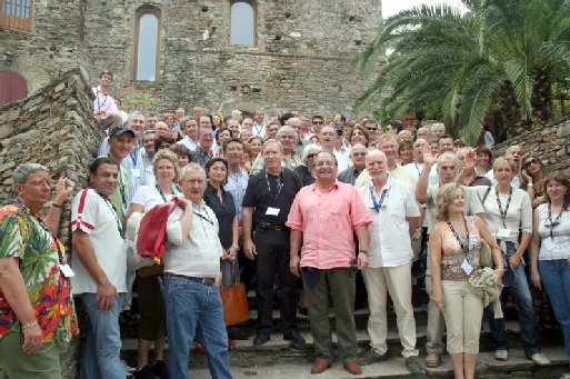 Le Snav, invité par Jean Ferrandini, pdt du Snav corse, dans le splendide domaine de Santa Catalina de Sisco (cliquer agrandir)