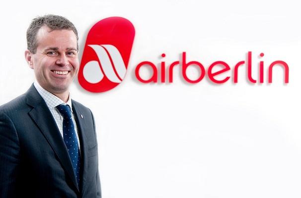 Paul Verhagen deviendra Directeur commercial d'airberlin le 1er mars 2015 - Photo DR