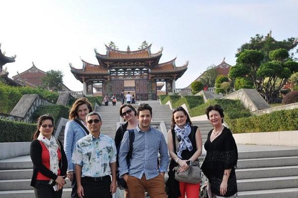 L'OT de Macao et Eva Air ont invité 5 représentants de TO français en éductour - Photo DR