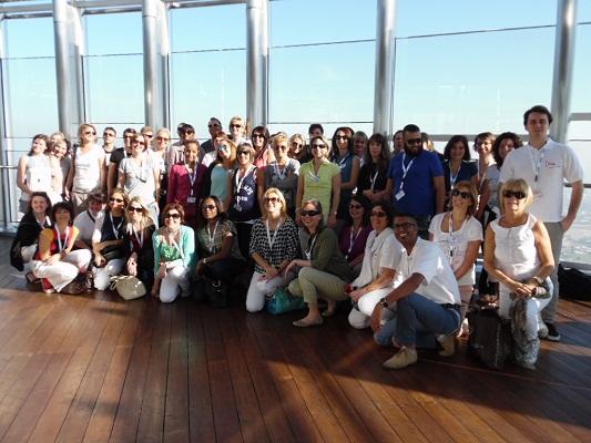 Les 50 professionnels invités avaient validé la formation Dubaï Experts en 2014 - Photo DR