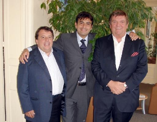 Les 3 représentants du CEP - Cliquer pour agrandir