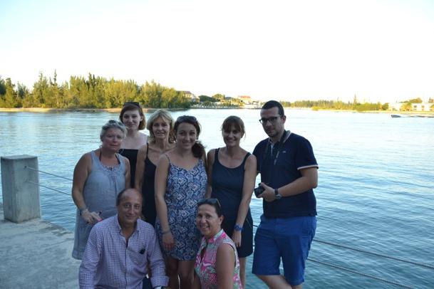 Les représentants des 8 TO ont pu découvrir ou redécouvrir les Bahamas du 8 au 15 novembre 2014 - Photo DR