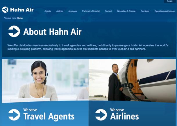 e-Direct : Hahn Air met en ligne son nouveau portail de réservation