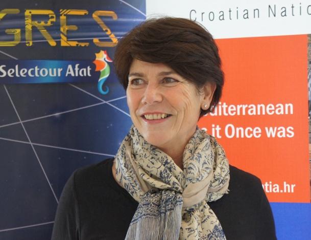 Dominique Beljanski, présidente de la coopérative Selectour Afat - Photo CE