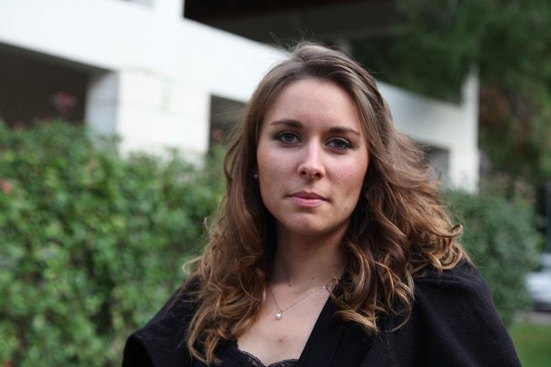 """Marion Favreau-Pantier de l'agence « Aux Portes du Monde » (Selectour Afat), lauréate du """"trophée jeune pousse"""" - DR"""