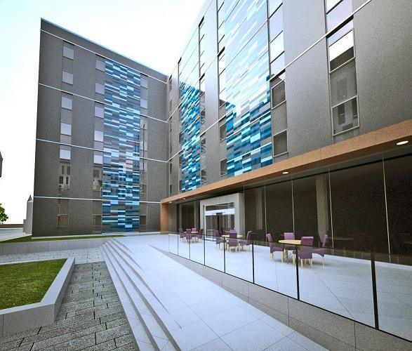 Le Residence Inn d'Aberdeen comptera 112 studios et 14 suites - Photo DR