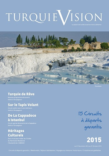 Turquie Vision publie sa brochure pour l'été 2015 - DR