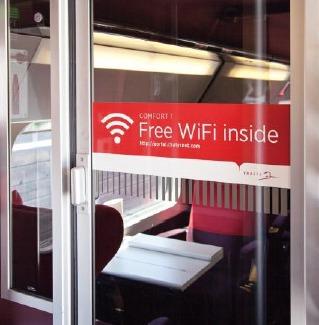 Thalys va booster son offre WiFi pour offrir une connexion plus rapide