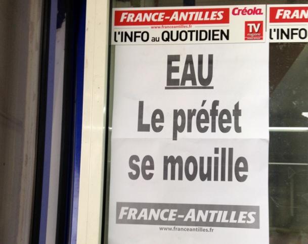 Guadeloupe : la grève de l'eau suspendue... pour noyer le poisson ?