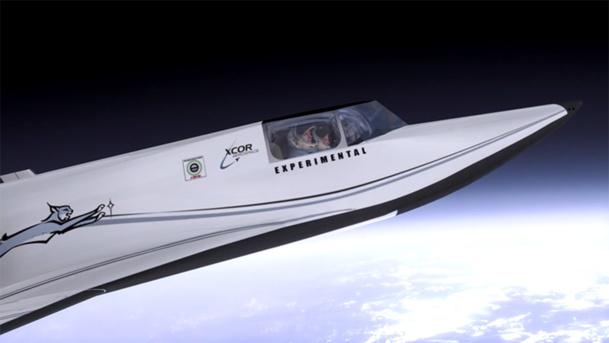 L'avion suborbital Lynx rocketplane enverra des touristes dans l'espace dès l'année prochaine si tout se passe comme prévu - DR : XCOR Aeroplane