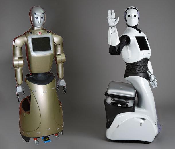 Reem vous accueille et porte vos bagages - DR pal-robotics.com