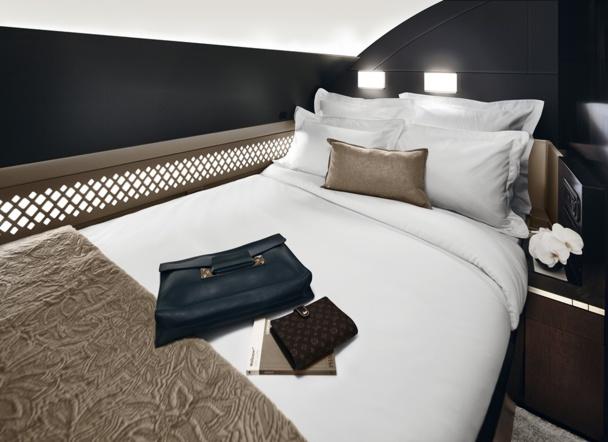 Abu Dhabi-Heathrow : Gino Bertuccio, a déboursé 25 000 dollars pour la suite d'Etihad... l'aller !