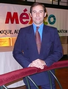 Jorge Lombard-Moutte, le nouveau directeur du Conseil de Promotion touristique du Mexique en France