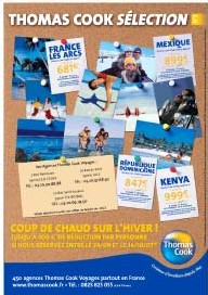 Brochures « Thomas Cook Sélection »