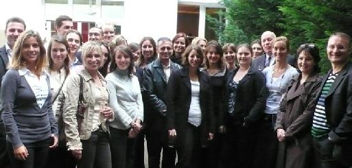 L'équipe Interface Tourism hier dans ses locaux de la rue Blanche à Paris (cliquer pour agrandir)