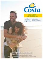 Europe du Nord, mini-croisières : Costa édite 3 brochures thématiques