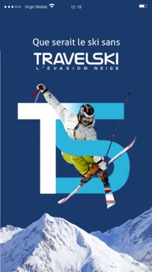 L'application Travelski