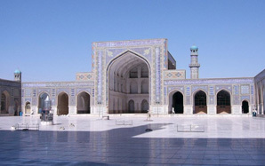 One of the oldest mosques in Afghanistan, Masjid Jami (Photo: Wikimedia Commons)