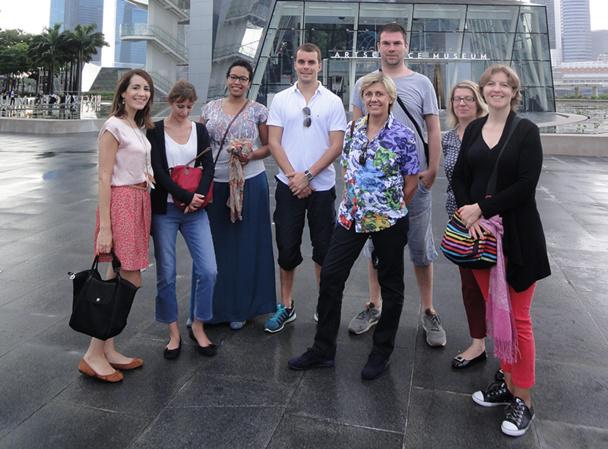 Sept TO français à la découverte de Singapour