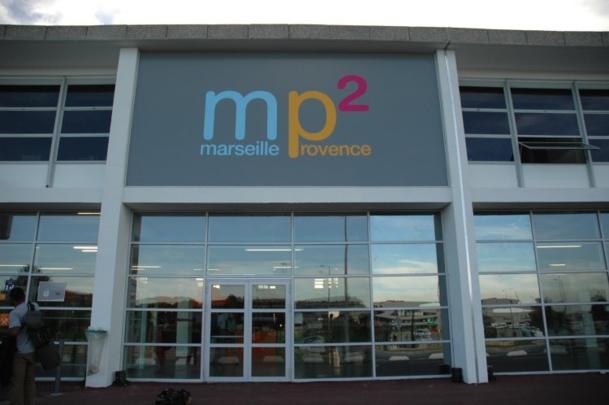 Les bonnes performances du terminal mp2 aident à compenser le ralentissement de l'activité sur les autres terminaux de l'aéroport Marseille Provence en 2014 - DR : TourMaG.com