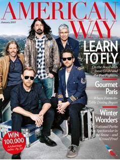 L'édition de janvier met le groupe de rock des Foo Fighters en une - DR