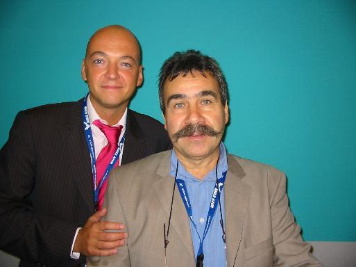 Nicolas d'Hyèvres et Michel Jean-Richard