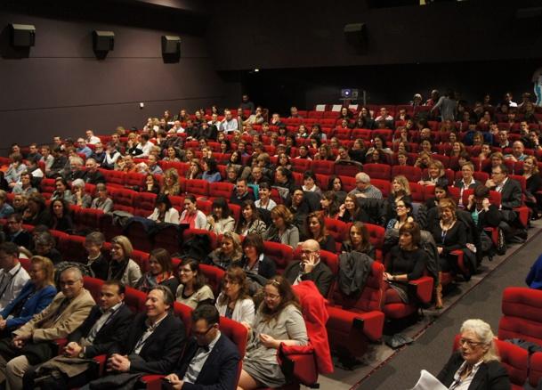 Plus de 300 personnes, salariés et partenaires étaient réunies à Benodet à l'occasion de la convention annuelle du Groupe Salaün - Photo CE